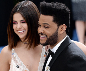 selena gomez, the weeknd, and fashion image