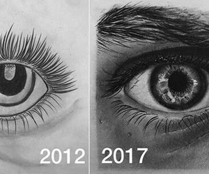 art, before and after, and drawing image
