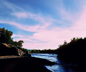 river and sky image