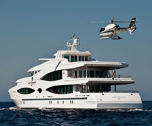 wealth, yacht, and luxury image