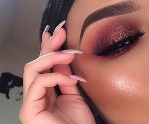 makeup, fancy, and girl image