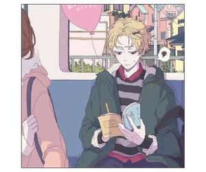art, mystic messenger, and yoosung image