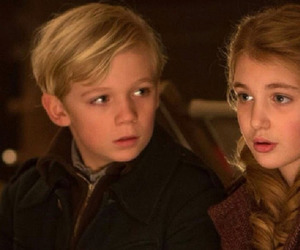 liesel, rudy, and thebookthief image