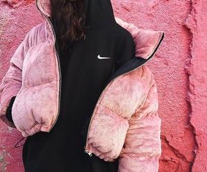 fashion, pink, and nike image