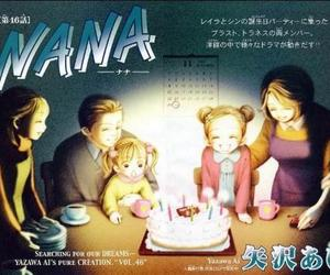 birthday, father, and manga image