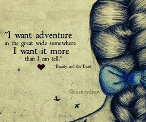 beauty and the beast, belle, and quotes image