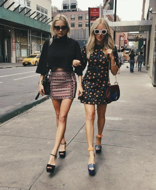 fashion, style, and chic image