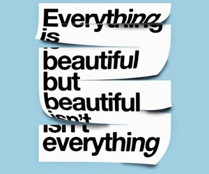 quote, beautiful, and everything image