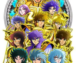 gold saint and Saint Seiya image