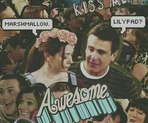 couple, himym, and lily aldrin image