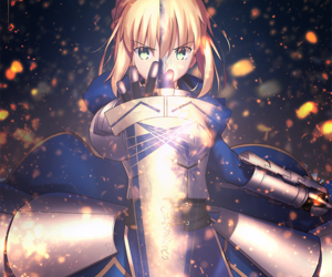 saber and fate stay night image