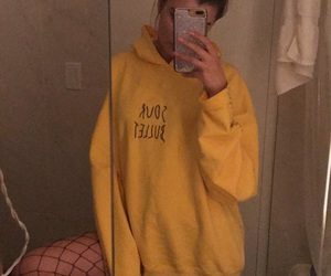 alissa violet, yellow, and team 10 image