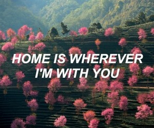 home, love, and quotes image