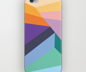 abstract, colorful, and triangle image