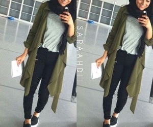 hijab, style, and muslim image