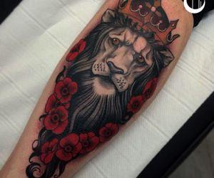 Tattoos and lion tattoo image