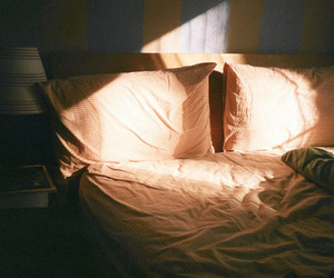 bed, photography, and vintage image