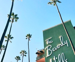 beach, Beverly Hills, and beverly hills hotel image