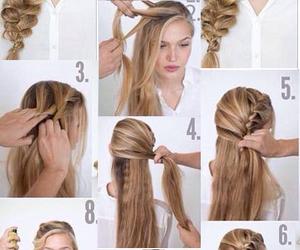 hair, hairstyle, and hair fashion image