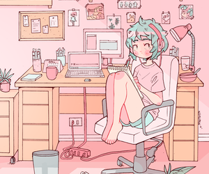 pastel, cute, and art image