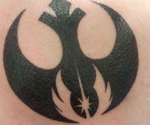 ink, star wars, and tattoo image
