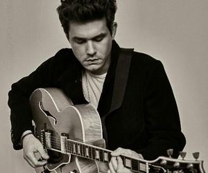 black, guitar, and john image