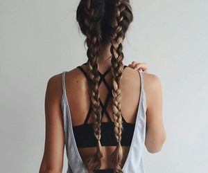 braids, girl, and outfit image
