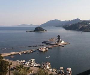 corfu, Greece, and sea image