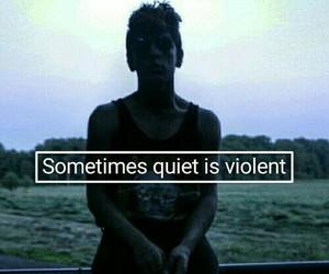 grunge, sad, and quiet image