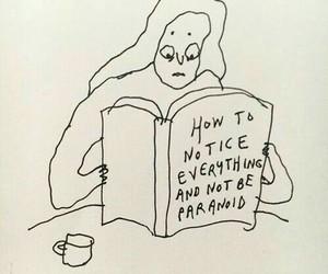 depressed, grunge, and paranoid image