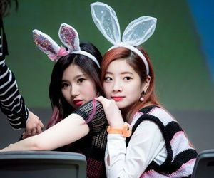 twice, sana, and dahyun image