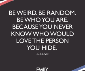 be yourself, cs lewis, and quotes image