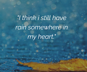 blue, heart, and quote image