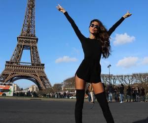 black, brunette, and travel image