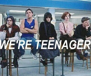 teenager, The Breakfast Club, and 80s image