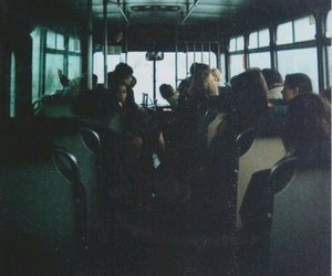 bus, grunge, and vintage image