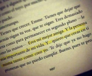 book, frases, and best friends image