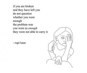 quotes, rupi kaur, and life image