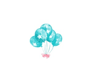 aesthetic, balloons, and colors image