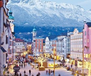 city, austria, and travel image