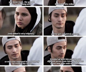 skam, even, and sana image