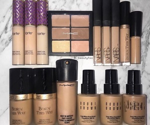 Foundation, mac cosmetics, and nars image