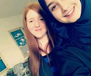 rousse hijab bff image