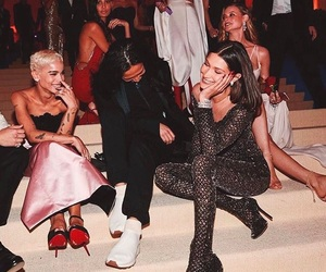 bella hadid, met gala, and zoe kravitz image