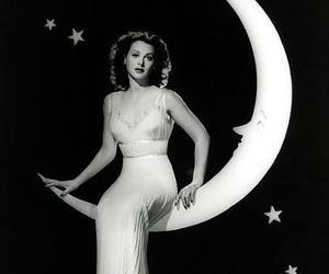 hedy lamarr and moon image