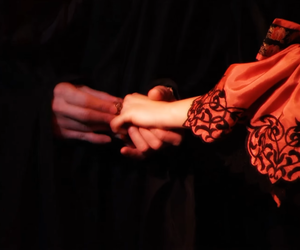 hands, The Phantom of the Opera, and theatre image
