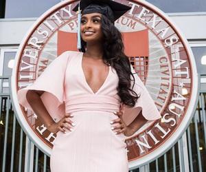 girl, graduation, and black girl magic image
