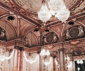 rose gold, pink, and architecture image