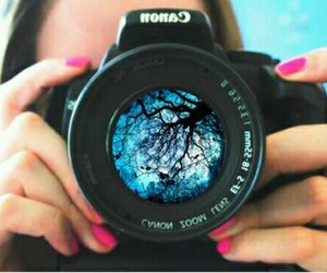 camera, canon, and photography image