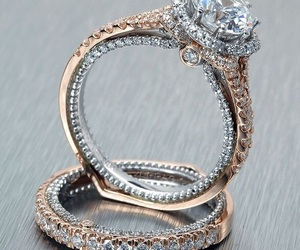 beautiful, gold, and wedding ring image